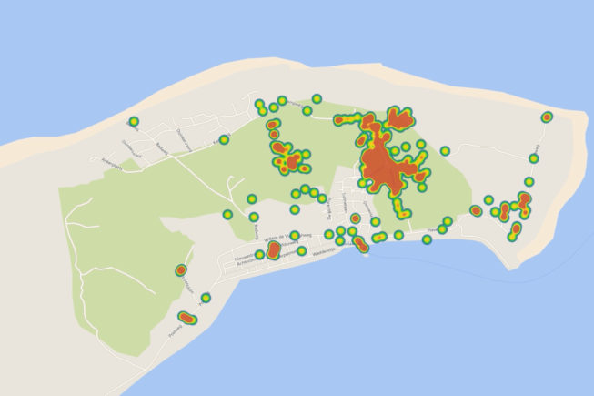 One of our IoT applications; the track- & Tracing used by Into to Great Wide Open